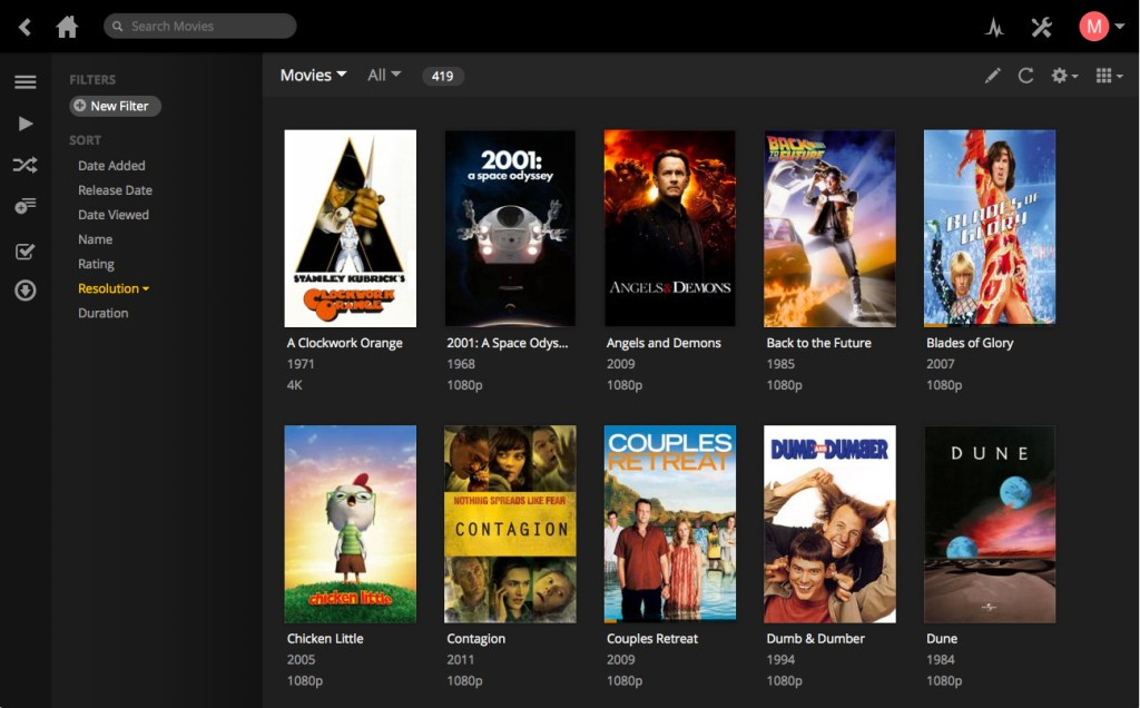 Plex_Web_Interface